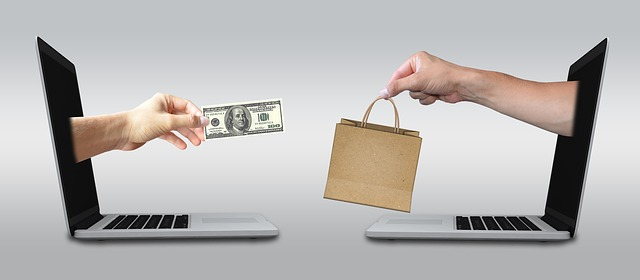 nákup přes pc