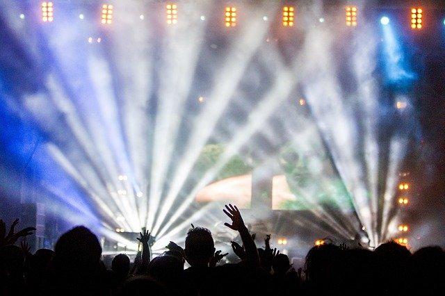 lightshow hudba