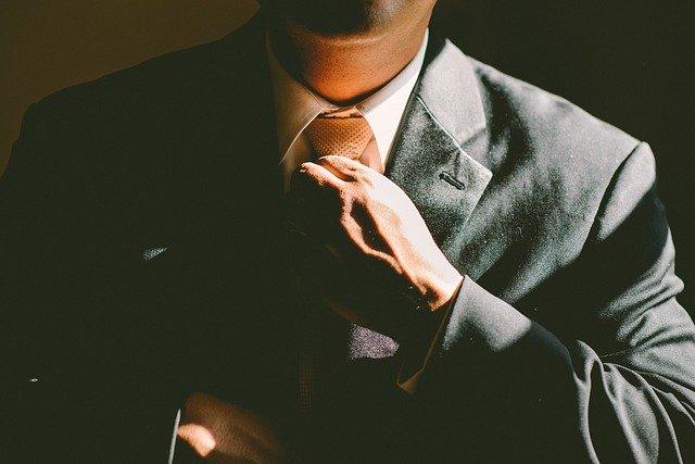 Podnikatel v kravatě