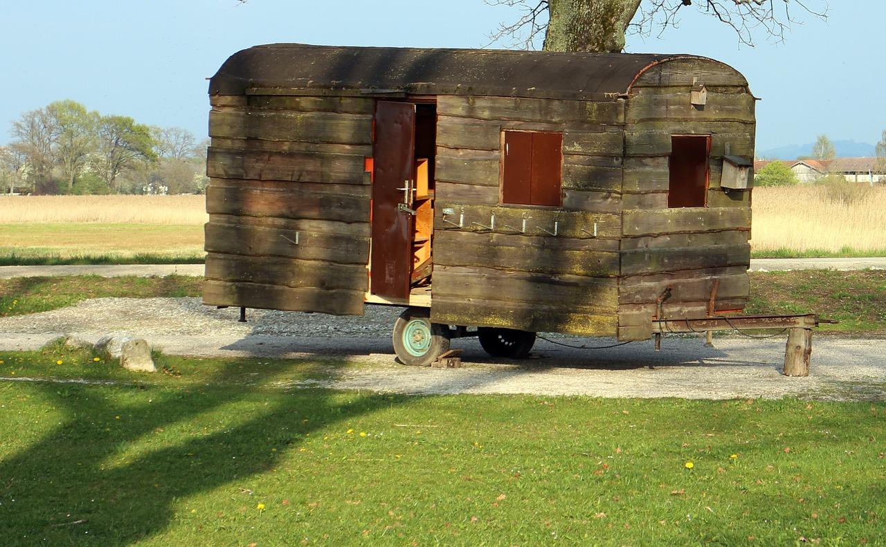 mobilní dům starší